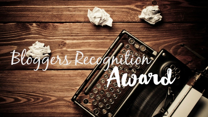 TAG| Bloggers RecognitionAward