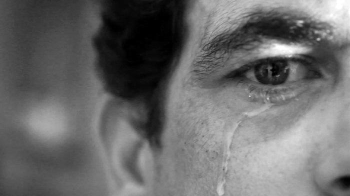 Homem também chora